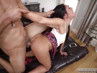 Anal butt fuck and petite mature brunette Rough anal