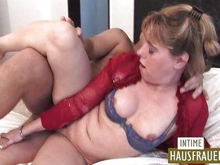 Ugly german housewife bitch