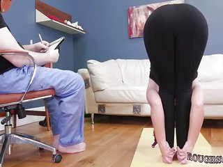 Mature granny bondage first time Ass-Slave Yoga