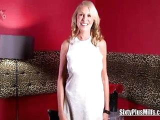 Seventy plus blonde babe Bethany