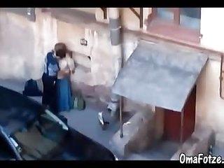 OmaFotzE Amateur Granny Sex Captured On Home Video