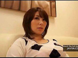 Asian MILF Cant Resist Pushy Stepson