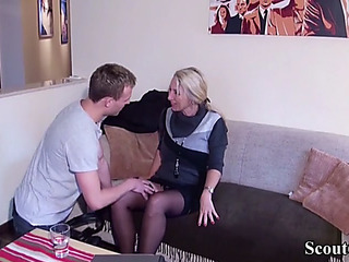 German youngster entice mother i'd like to fuck realtor to fuck in underware