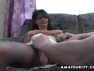 fuck Mature amateur wife homemade fuck with cumshot