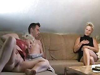 sex German Mature Twins