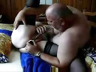 fuck My pervert old wife still likes cock !!