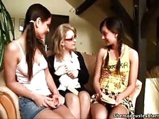 Teens and Teacher Lesbian Fun
