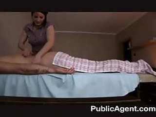 Fucking the masseur mature MILF
